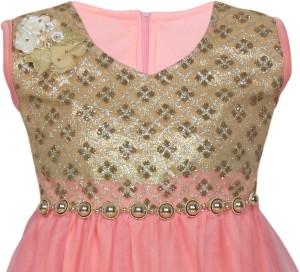472a7b49181 MKB Baby Girl s Maxi Full Length Casual Dress Pink Sleeveless Best ...