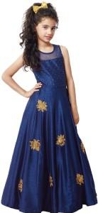 Xomantic Fashion Girl's Maxi/Full Length Party Dress