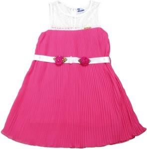 aa735cc9f11e 612 League Girl s Midi Knee Length Casual Dress Pink Sleeveless Best ...