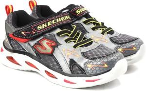 19c89a046e39 Skechers Boys Velcro Grey Best Price in India