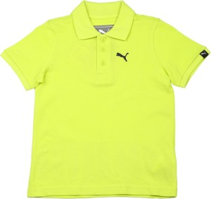 13e2a091 Puma Boys Printed Cotton T Shirt Light Green Pack of 1 Best Price in ...