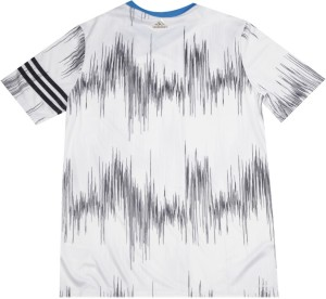 ff59a624 Adidas Boys Printed Polyester T Shirt White Pack of 1 Best Price in ...