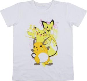 Pokemon Pikachu All Over Print Boy/'s T-Shirt