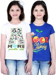 0a5f792ca Sini Mini Casual Cotton Top Multicolor Pack of 2 Best Price in India ...