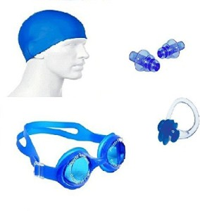 76a629b1729 Kyachaiyea Swimming Kit Silicon Cap Silicon Ear Plug Swimming Nose Clip Swimming  Goggles Swimmi Best Price in India | Kyachaiyea Swimming Kit Silicon Cap ...