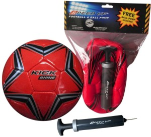 Speed Up Ball & Pump Combo Football Kit