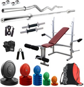 Headly Premium CP-HR-68KGCOMBO8 Coloured Gym & Fitness Kit