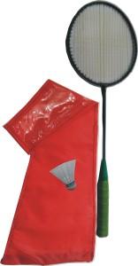 J&JC STRIKE (1 Racket + 1 Shuttle + 1 Cover) Badminton Kit Badminton Kit