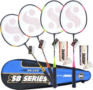 151f7aade5d9f Silver s SIL SB220 COMBO3 Badminton Kit Best Price in India