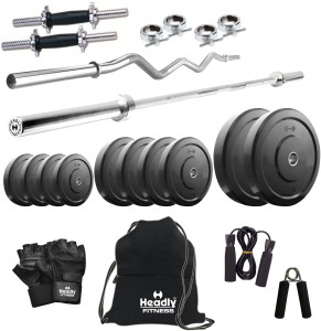 Headly 32 kg Combo 2 Home Gym & Fitness Kit