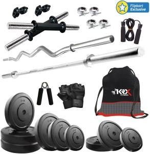 KRX 50KG COMBO 2 Gym & Fitness Kit