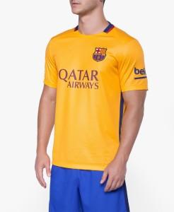 new product 97656 4fbcd Navex Football Jersey Club Barcelona Yellow Short Sleeve Ket L Football Kit