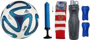Retail World Brazuca Combo Football Kit