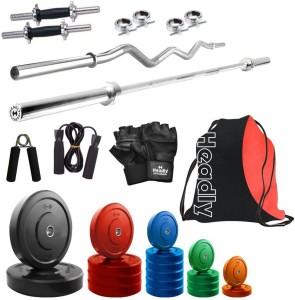 Headly Premium CP-HR-68KGCOMBO2 Coloured Gym & Fitness Kit