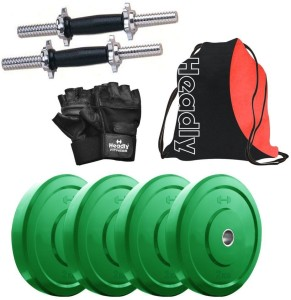 Headly Premium CP-HR-8KGDMCOMBO1 Coloured Gym & Fitness Kit