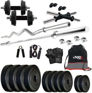 KRX 40 KG COMBO 2 Gym & Fitness Kit