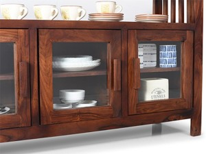 Urban Ladder Rhodes Solid Wood Crockery Cabinet Finish Color Teak Best  Price In India | Urban Ladder Rhodes Solid Wood Crockery Cabinet Finish  Color Teak ...