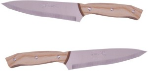 honkey Wooden, Stainless Steel Knife Set