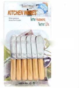 Agromech butter Wooden, Steel Knife Set