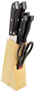KAT Stainless Steel, Plastic, Wooden Knife Set