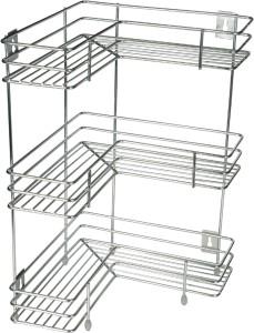KCL L Shape Stainless Steel Kitchen Rack