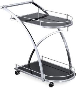 @home by Nilkamal Juniper Carbon Steel Kitchen Trolley