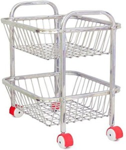 Royal Sapphire Stainless Steel Kitchen Trolley