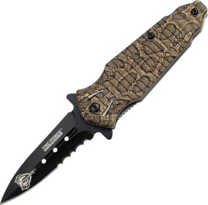 Tac Force Small Cobra Knife, Diver's Knife, Combat Knife, Survival Knife, Blade, Campers Knife, Pocket Knife