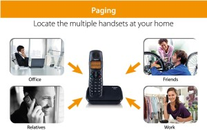 7d6d555bea1 Gigaset A450 Cordless Landline Phone White orange Best Price in ...