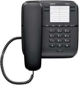 e4feaaaec Gigaset DA310 Corded Landline Phone Black Best Price in India ...