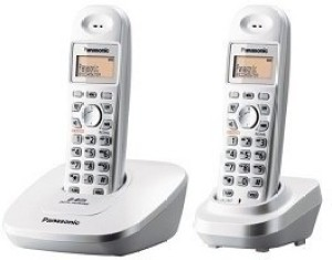 51ab5f845 Panasonic KX TG3612BX1 Cordless Landline Phone Silver Best Price in ...