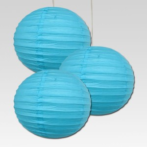 Dhol Dhamaka Blue Paper Lantern