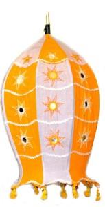 Art Godaam Handmade fabric Orange Cotton Lantern
