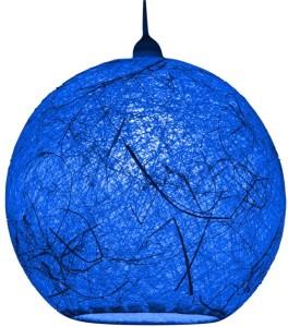 Salebrations Handmade Blue Cotton Lantern