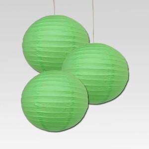 Dhol Dhamaka Green Paper Lantern