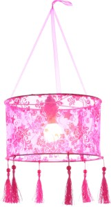 My Party Suppliers Diwali Kandil Pink Polyester Lantern