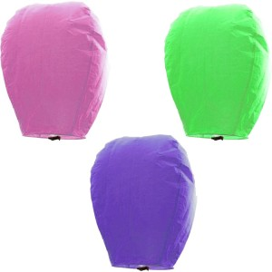 Little India Multicolor Paper Sky Lantern