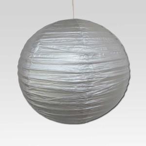 Christmas Tree Shops Silver Paper Lantern
