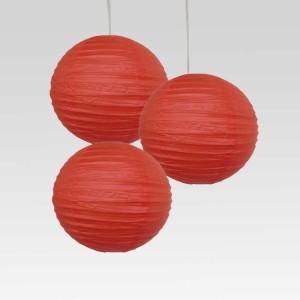 Christmas Tree Shops Red Paper Lantern