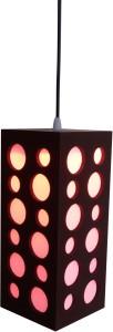 Fabionic Brown Wooden Lantern