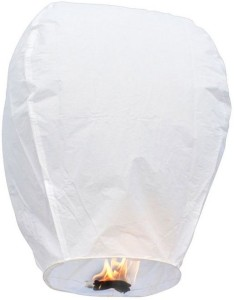 Dhol Dhamaka White Paper Sky Lantern