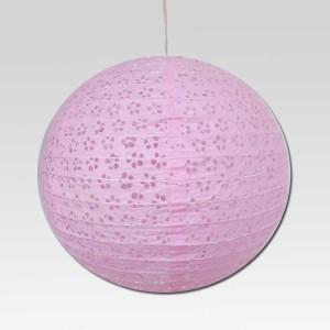 Christmas Tree Shops Pink Paper Lantern