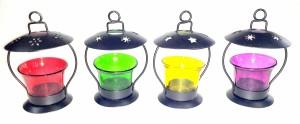 Being Nawab Cutie Pie Exotic Combo Red, Green, Yellow, Purple Iron Lantern