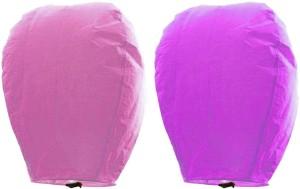 Little India Multicolor Paper Sky Lantern