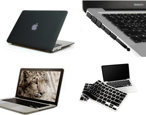 Pindia BLACK MATTE FINISH MACBOOK PRO 13 13.3
