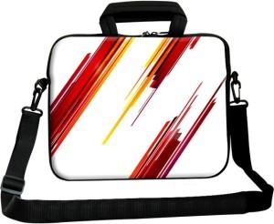 Theskinmantra 15 inch Laptop Messenger Bag Multicolor