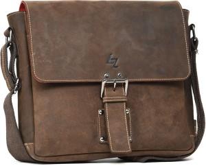 Leather Zentrum 15 inch Laptop Messenger Bag