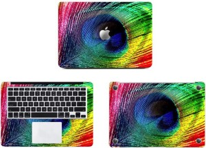Swagsutra Feathered Colours Vinyl Laptop Decal 11