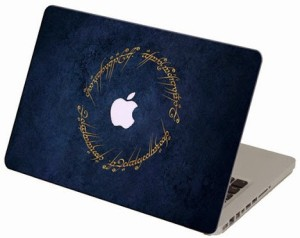 Theskinmantra Elvish Truth - Lord Of The Rings Macbook3m Bubble Free Vinyl Laptop Decal 11