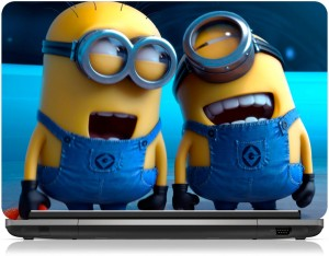 Brandpro Despicable Me 2 Laughing Minions Skin 15.6 inch Vinyl Laptop Decal 15.6